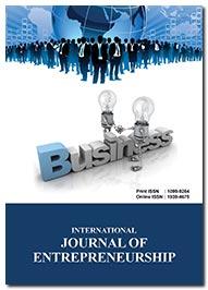International Journal of Entrepreneurship | Peer Reviewed