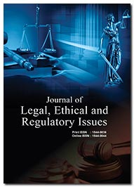 Legal, Ethical and Regulatory Issues