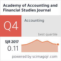 Academy of Accounting and Financial Studies Journal