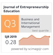 Entrepreneurship Education | Peer Reviewed Journal